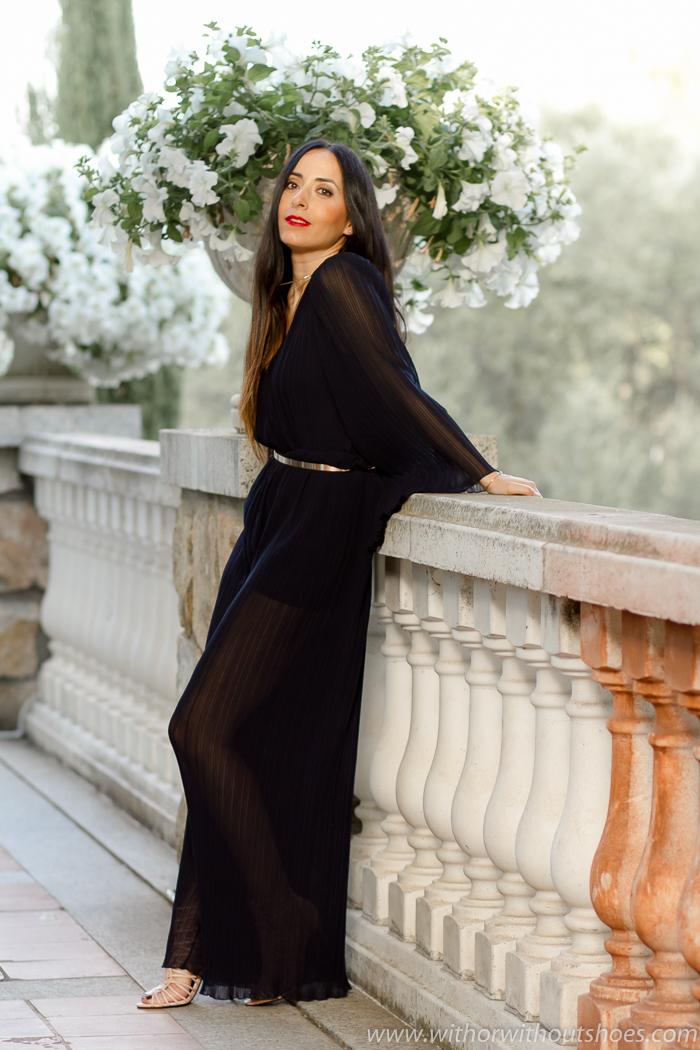 Blogger influencer con ideas para madres vestir invitada a una boda