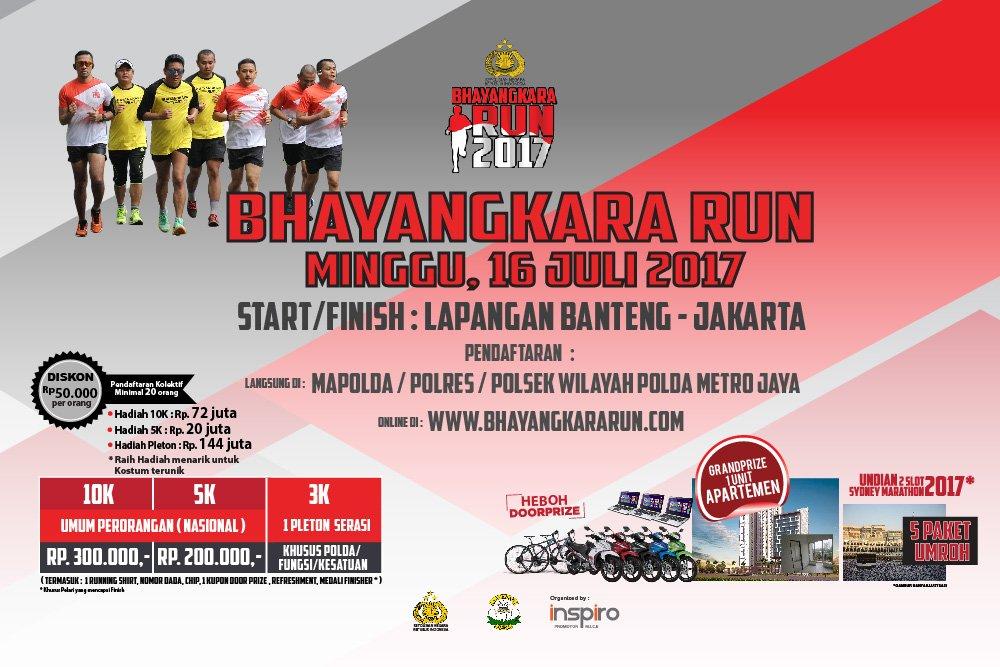 Bhayangkara Run • 2017
