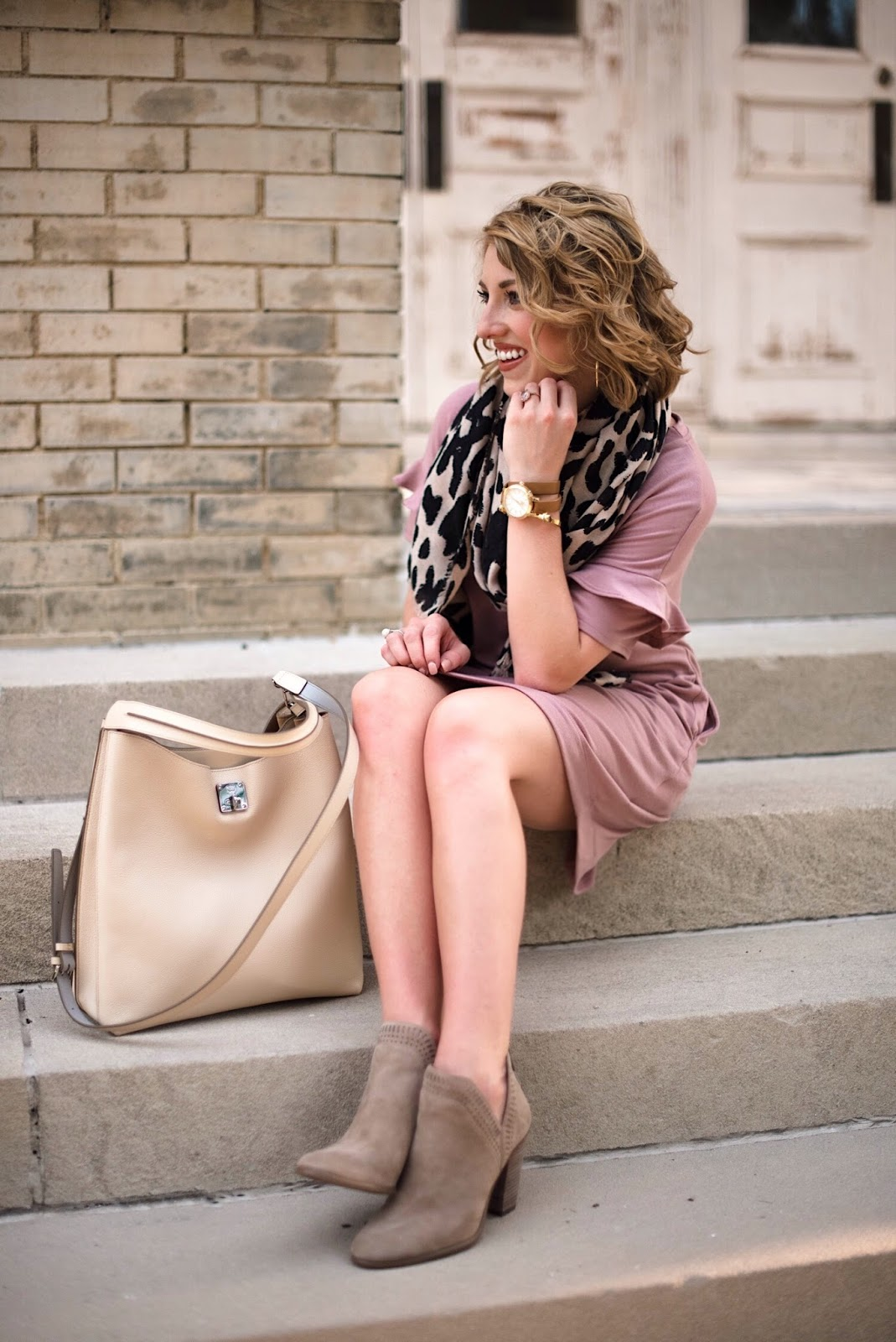 Transition into fall look - Click through to find all the details on Something Delightful Blog!