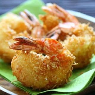 Креветки в кокосовой стружке