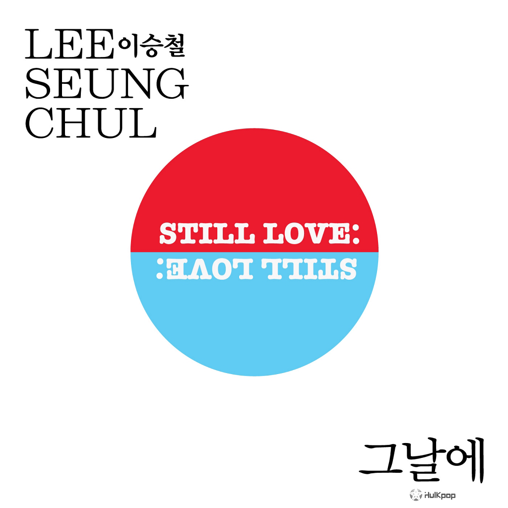 [Single] Lee Seung Chul – The Day