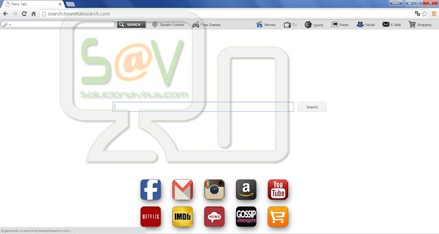 Search.tvnewtabsearch.com (Hijacker)