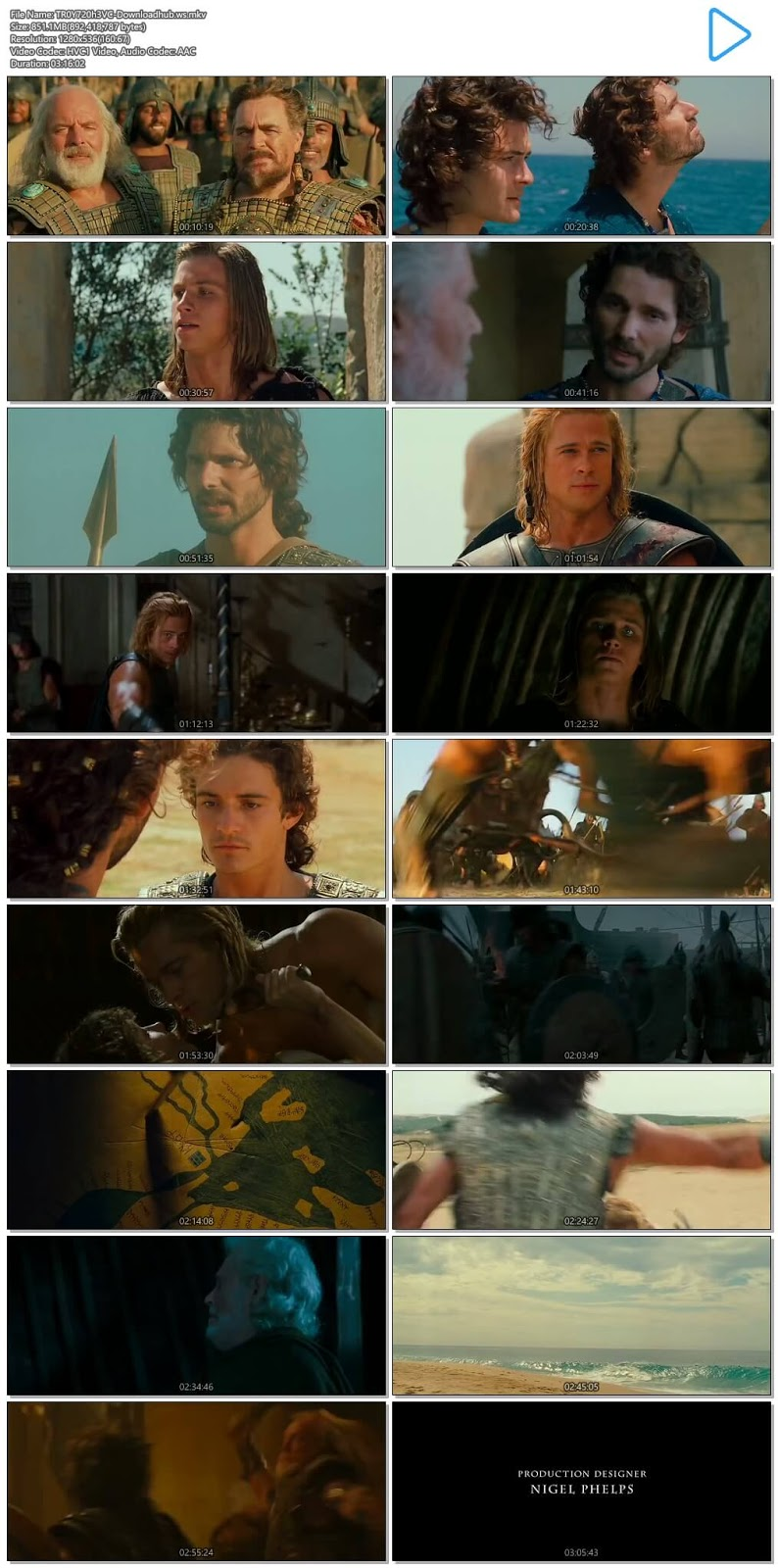 Troy 2004 [Dual Audio] Full Movie Online 720p HD & Download