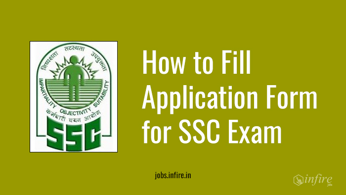 How to Fill Application Form for SSC Exam Online/Offline