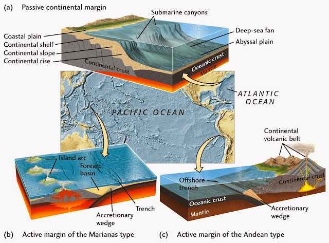 What's the Difference Between an Active and Passive Continental Margin?