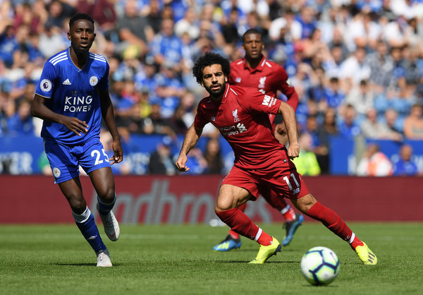 Mohamed Salah of Liverpool in action during the Premier League match between Leicester City and Liverpool FC at The King Power Stadium on September 1, 2018 in Leicester, United Kingdom. (Aug. 31, 2018 - Source: Shaun Botterill/Getty Images Europe)