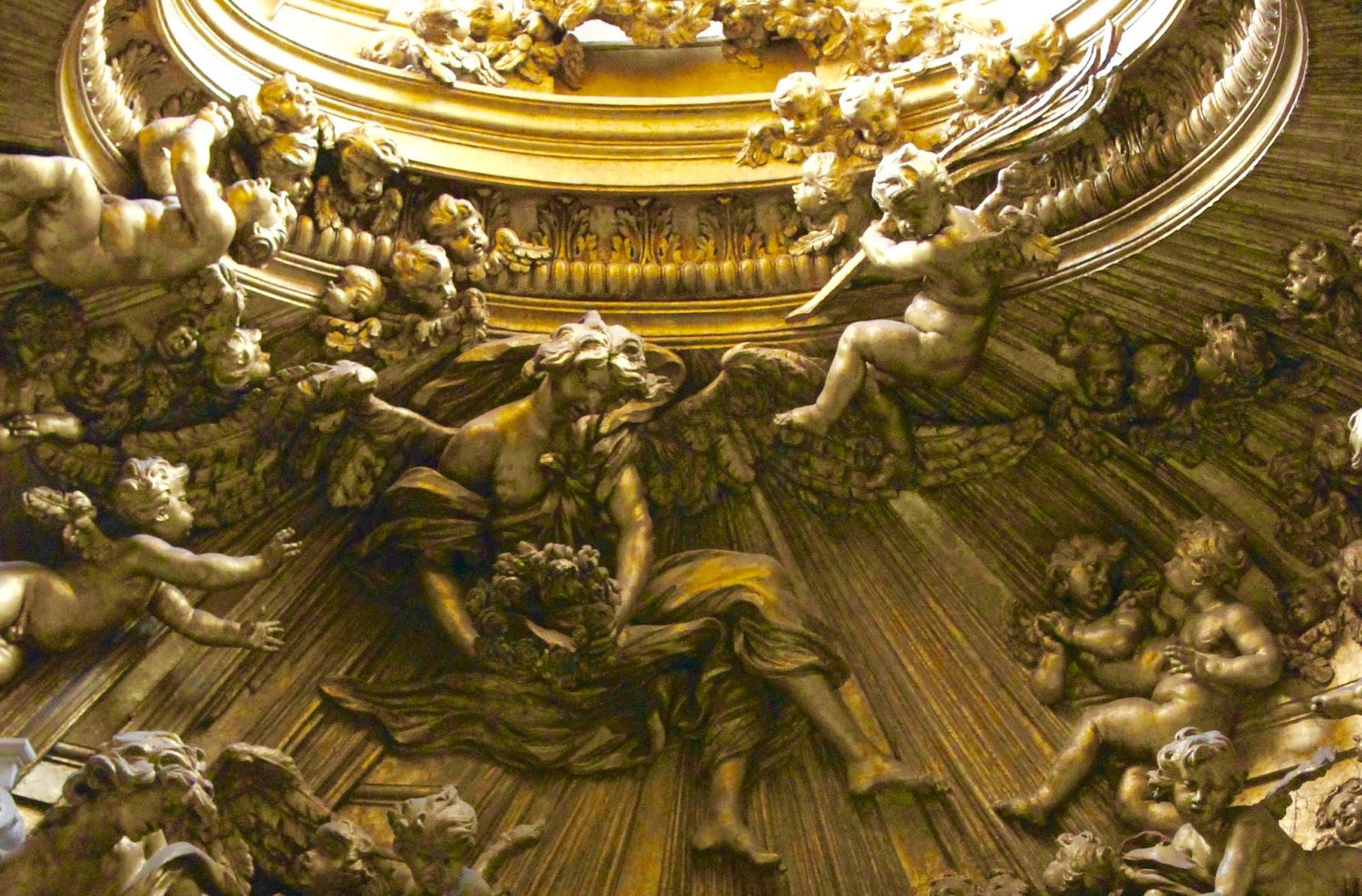 The Roman Anglican: Baroque Wonder: Sant'Andrea al ...