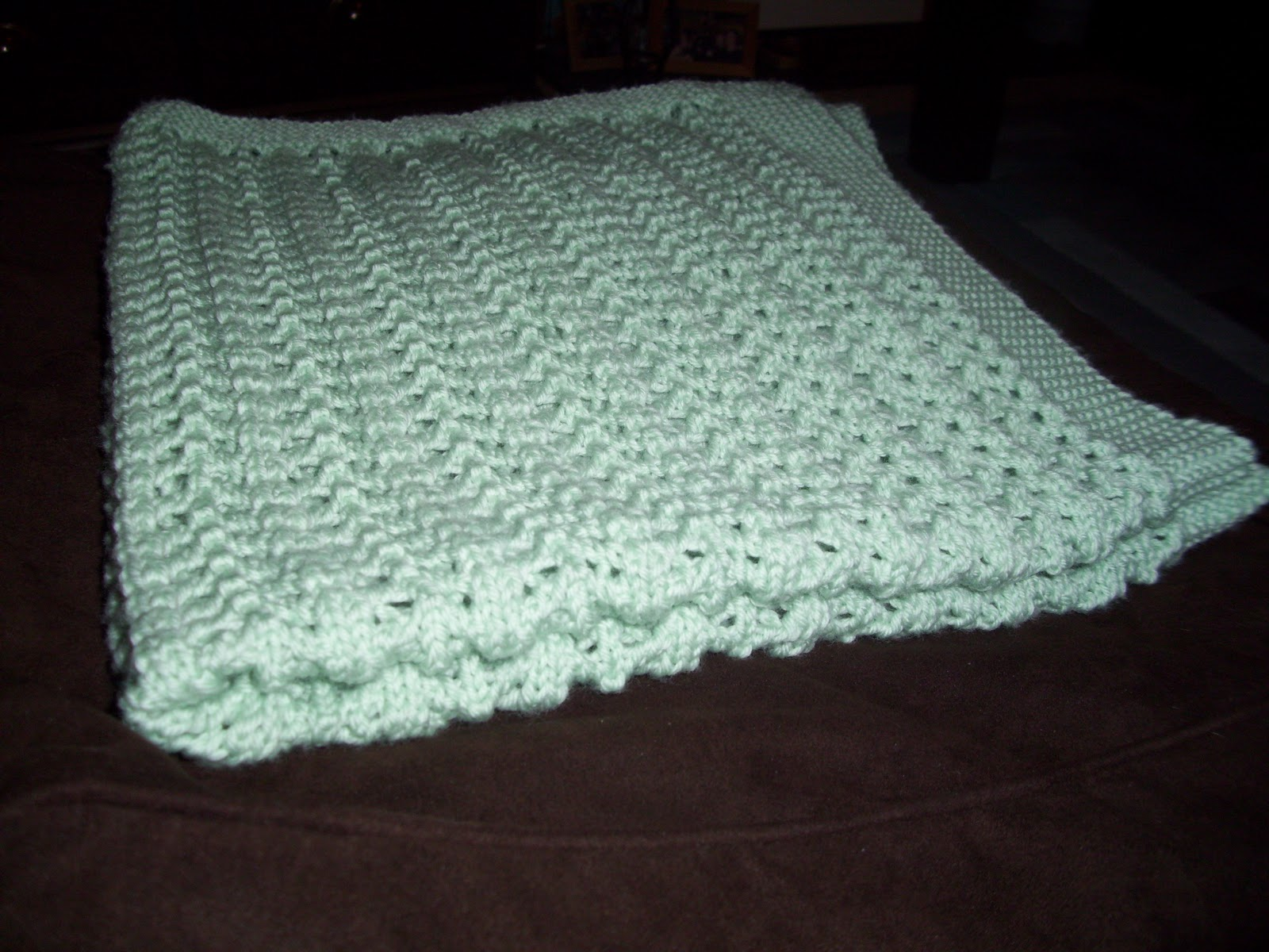 7c92b84d7012 Pine forest baby blanket