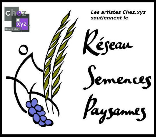 Les artistes Chez.xyz soutiennent le Réseau Semences Paysannes