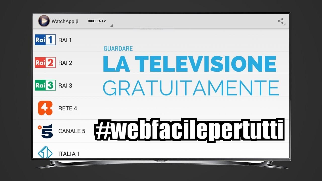 WatchApp Apk | Come Vedere Sky e Mediaset Premium Gratis Su Android - Web facile per tutti - Il ...
