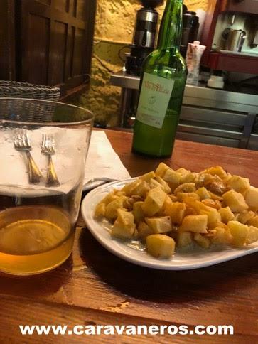 comer en Llanes Asturias en autocaravana | caravaneros.com