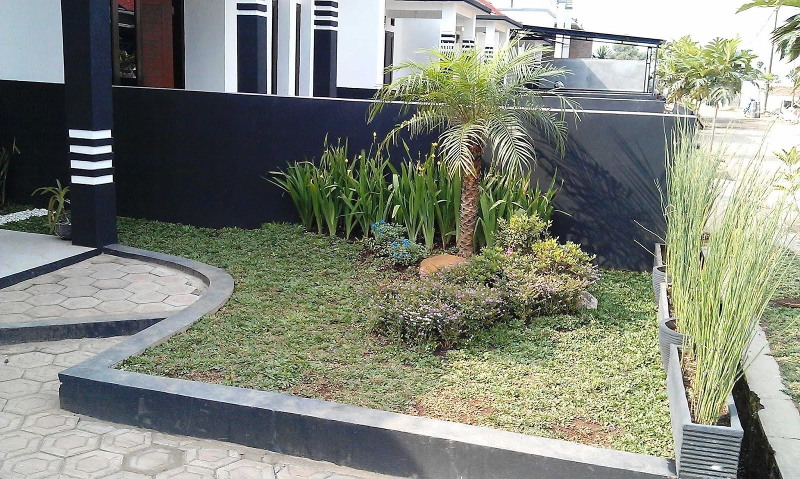 Desain Taman Depan Rumah Minimalis Sederhana