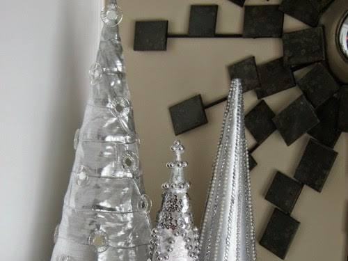 How To Make Beaded Christmas Cone Trees For Less