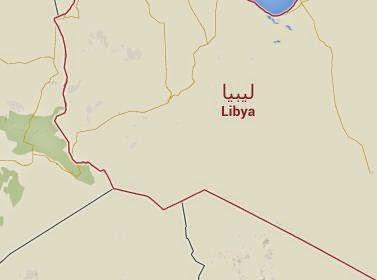 Peta Negara Libya