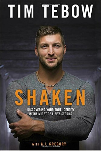 Shaken by football player Tim Tebow