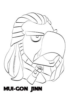 All Free Coloring Page For KidsAngry Birds Star Wars Coloring Pages Darth Maul