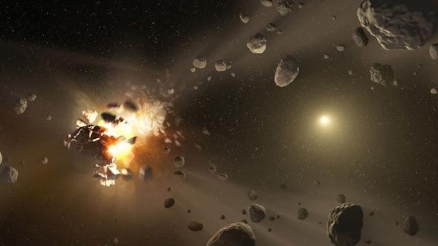 La Tierra evitó por los pelos una peligrosa colisión con un asteroide