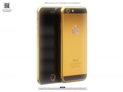 Ini Konsep iPhone 6 Mewah Berlapis Emas
