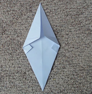 Easy Ghost Origami