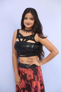 Shriya Vyas in a Tight Backless Sleeveless Crop top and Skirt 172.JPG