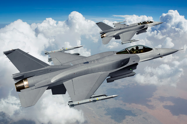 TAIWAN BEGINS UPGRADE ENTIRE FLEET OF F-16 FIGHTER JET