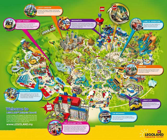 Map Of Malaysia Legoland - Maps of the World