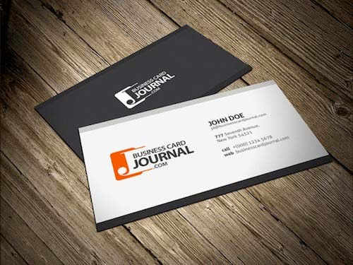 Simply Modern Corporate Business Card Template
