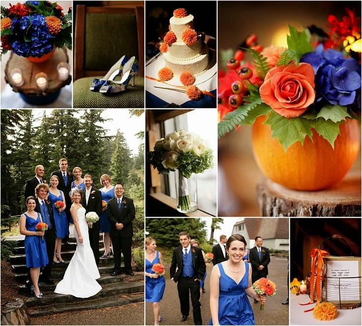 Simple Elegance Royal Blue Wedding Theme Ideas