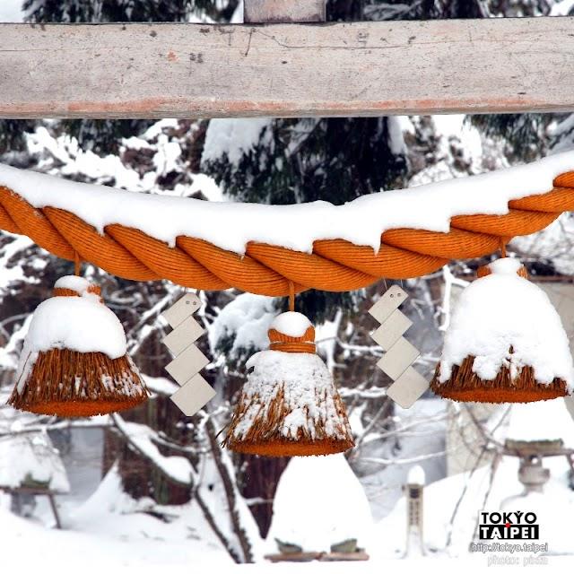 【白川八幡神社】被大雪掩埋的老神社 想參拜都寸步難行