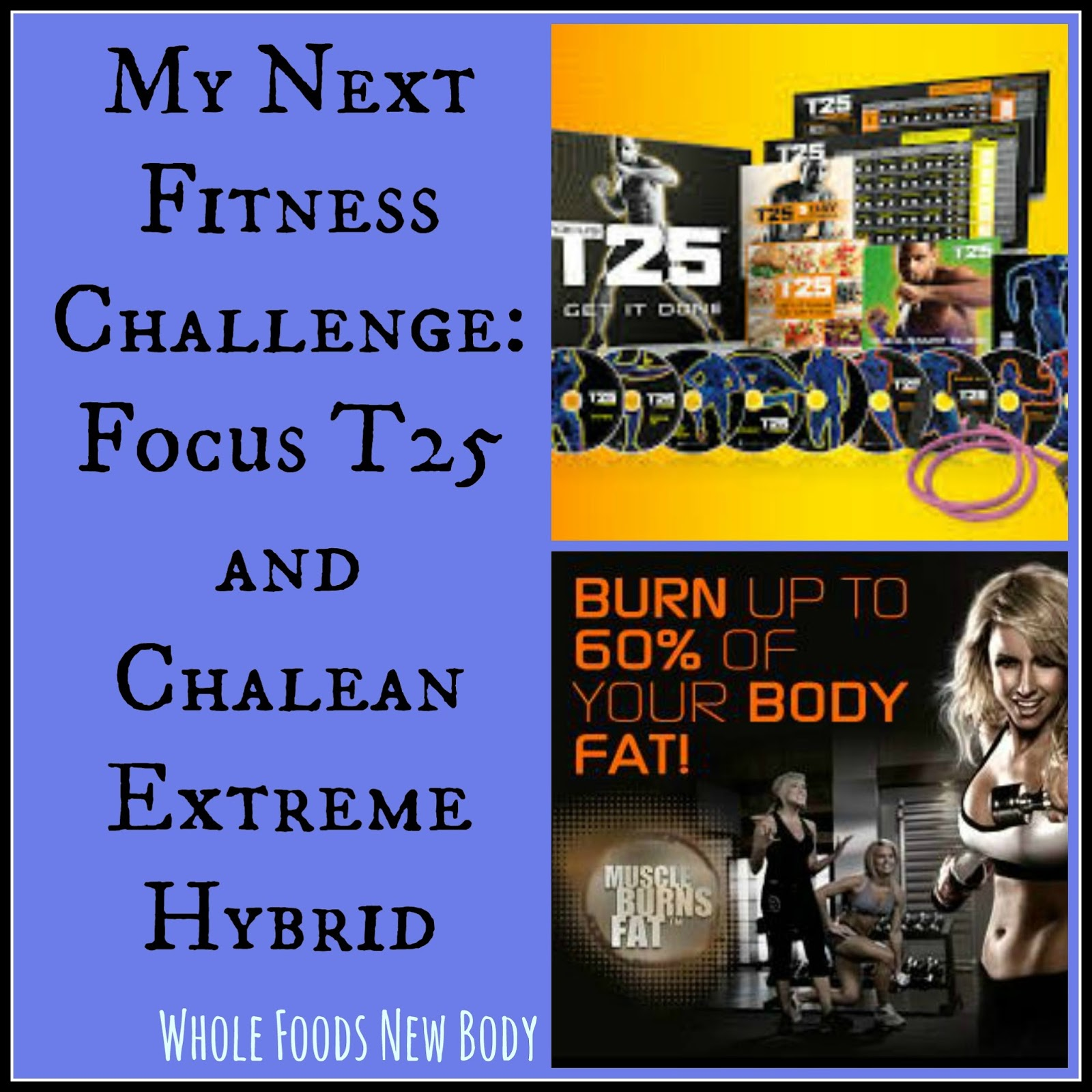 Whole Foods W Body Fitness Plan T25 And Chalean