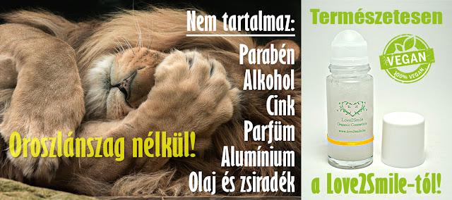 Love2Smile, környezet- és bőrbarát, natúr, dezodor, deo, kozmetikum, vegán, vegyszermentes, természetes, tiszta, alumíniummentes, pálmaolajmentes, állatkísérletmentes, kézműves, prémium, magyar termék, érzékeny bőrre, izzadás, izzadásgátló, stift, golyós, hatékony, antibakteriális, szagtalanító,
