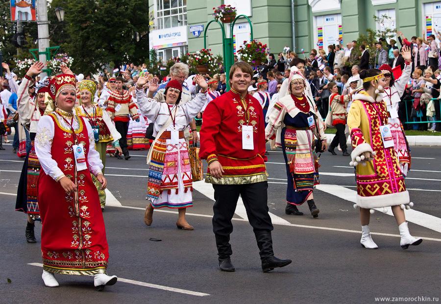 Празднование Тысячелетия единения мордовского народа с народами Российского государства