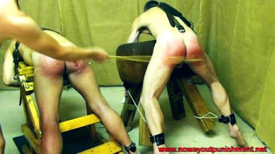 Ben and Harry get thrashed for No Way Out Punishment