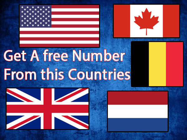Get a free US, UK or EUROPEAN Number for Whatsapp, Google, Instagram, Facebook