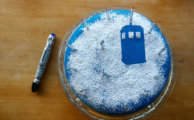 Remarkable Doctor Who Tardis Cake Paisleyjade Funny Birthday Cards Online Inifofree Goldxyz