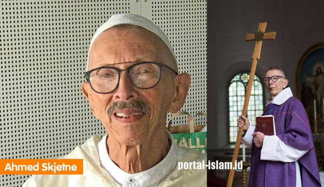 Ahmed Skjetne (75 tahun), Mantan Pendeta Swedia Masuk Islam, Dibujuk Pihak  Gereja Untuk Kembali, Tapi Tetap Istiqomah dalam Islam   PORTAL ISLAM