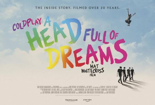 Filme Review: A Head Full Of Dreams (Documentário)
