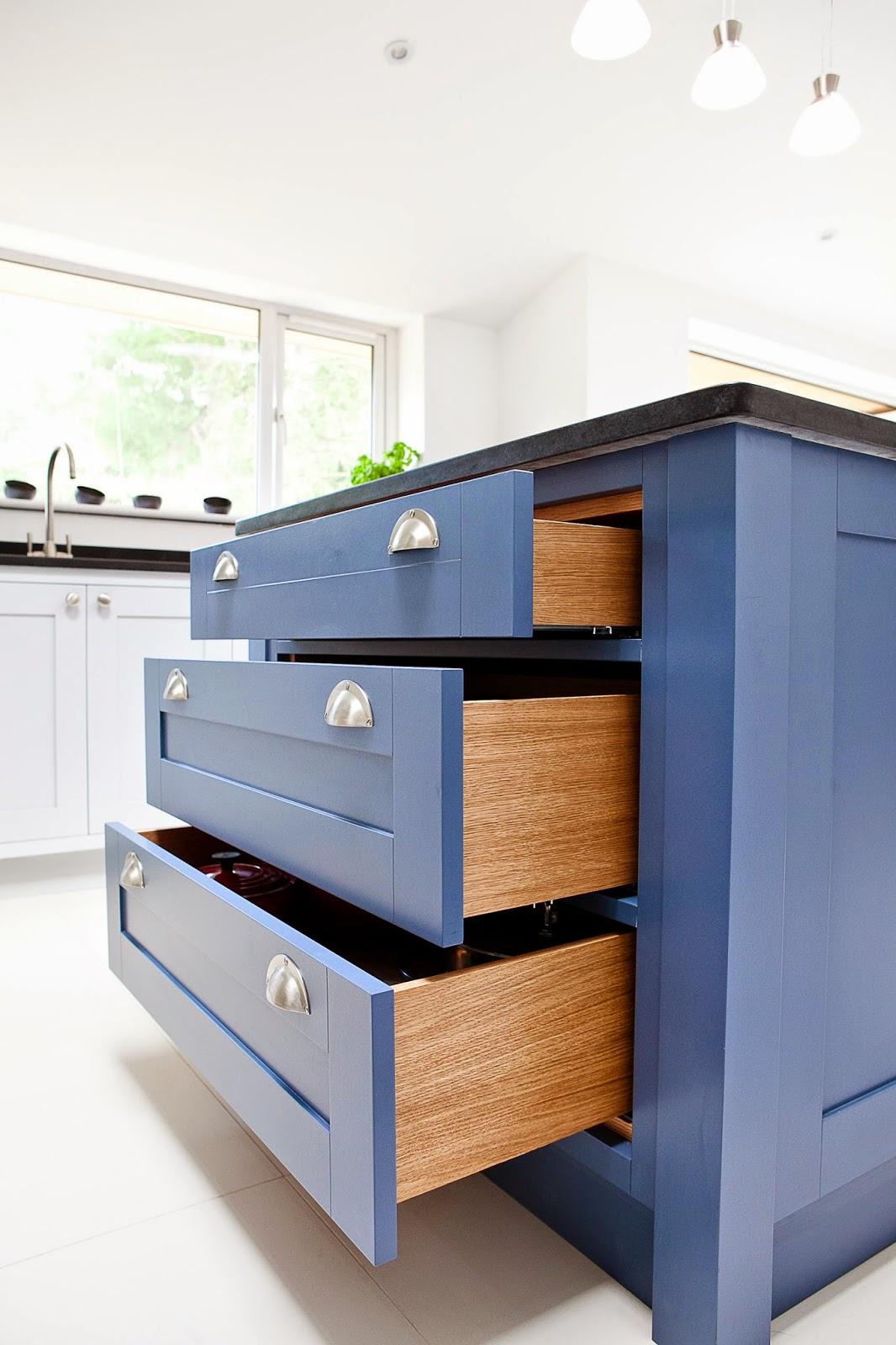Maple Amp Gray Blue Amp Grey Kitchen