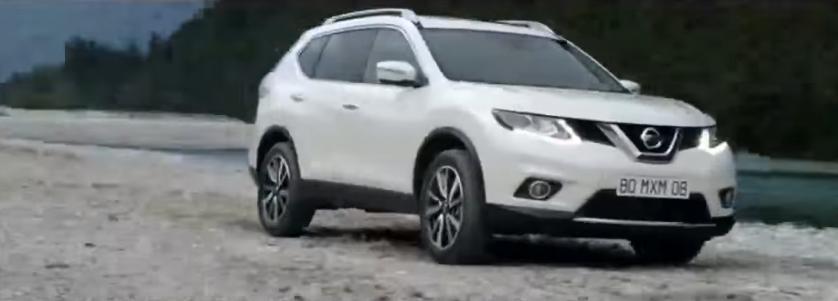 Canzone Nissan X Trail pubblicità con persone nella cascata - Musica spot Novembre 2016