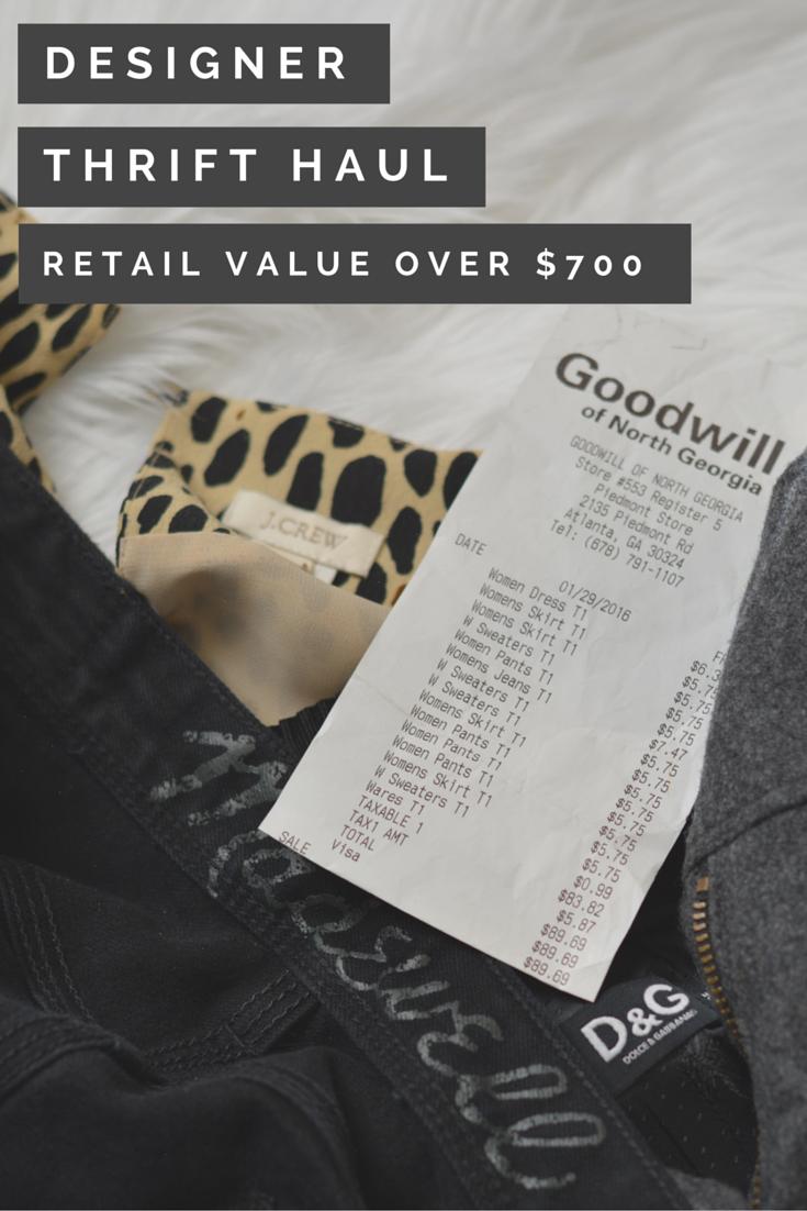 february thrift haul