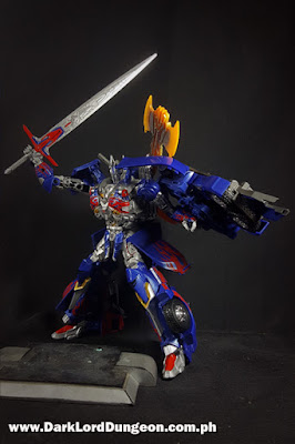 Takara TLK-15 Calibur Optimus Prime