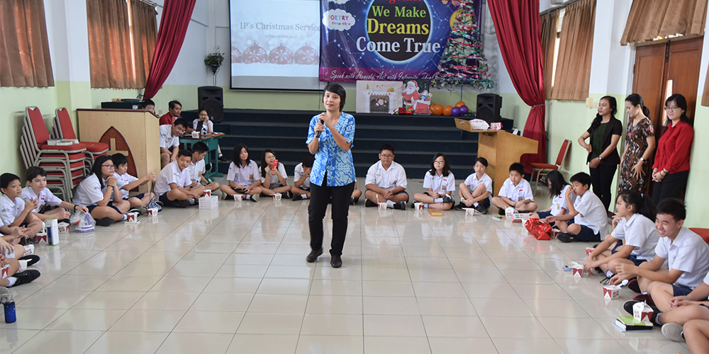 Ibadah dan Perayaan Natal International Program Kalam Kudus 2017