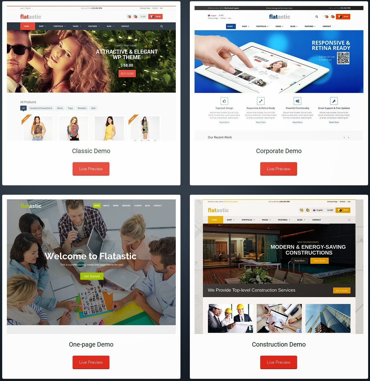Best Responsive Multipurpose WordPress Theme 2015