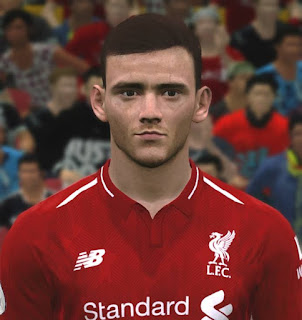 PES 2017 Faces Andrew Robertson by ABW_FaceEdit