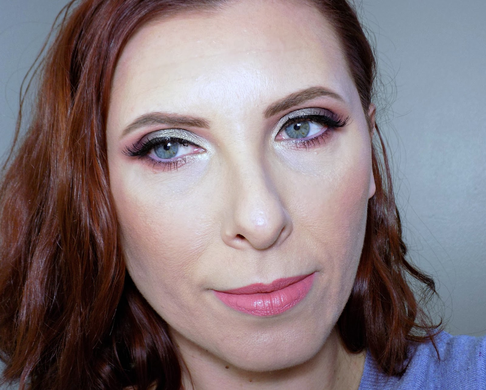 Makeup look using Too Faced Sweet Peach palette