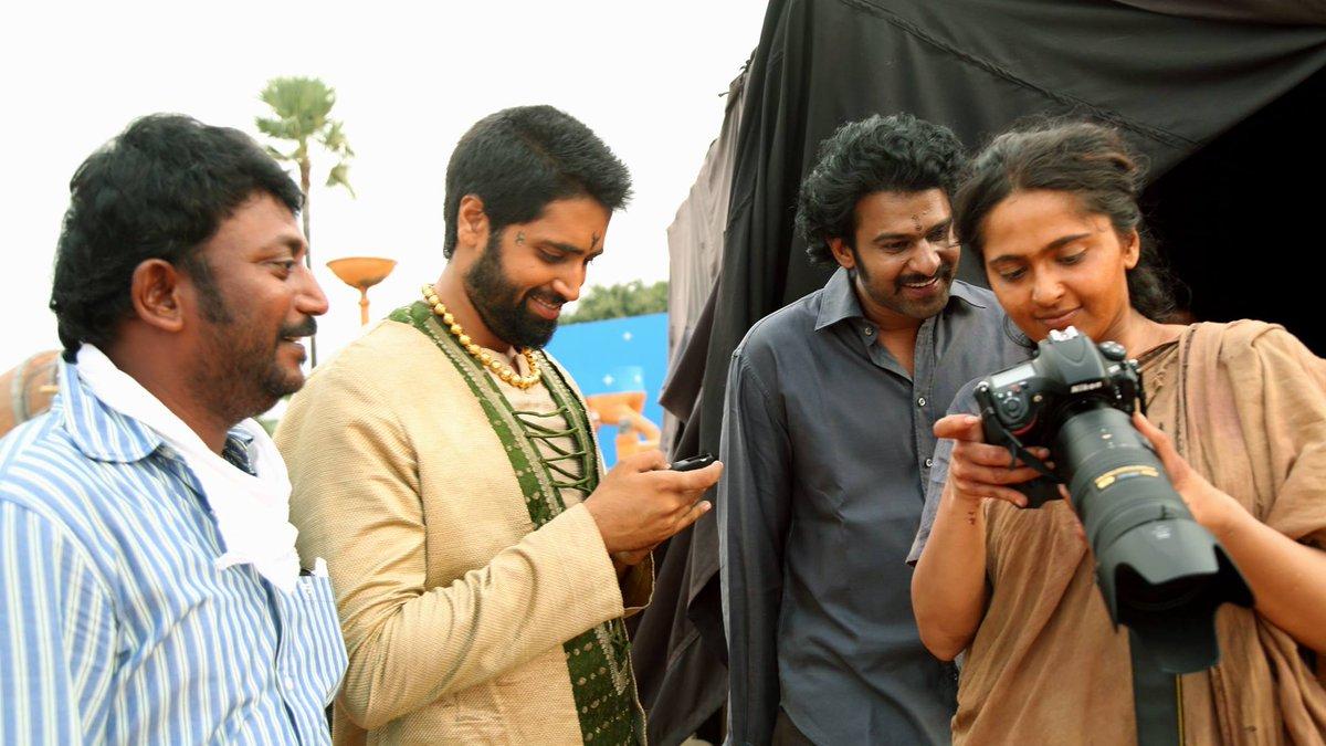 Prabhas Fans Forever: Baahubali 2 New Working Stills