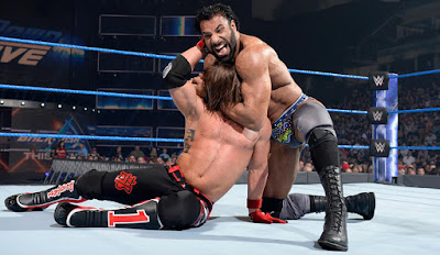 Jinder Mahal Fight With A J Styles