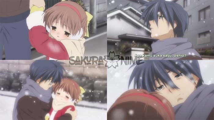 Kematian Ushio ( Clannad: After Story )