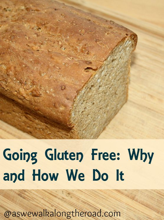 Going gluten free- why and how