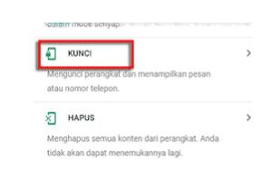 cara melacak hpxiaomi yang hilang dengan email gmail